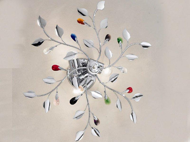 Plafoniera Fiori Cristallo : Cristallo moderno plafoniere archivi bianchi casa