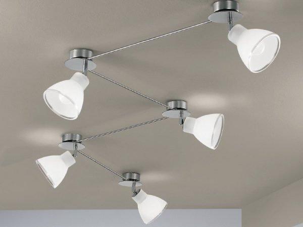 Linea light group campana faretto cinque luci