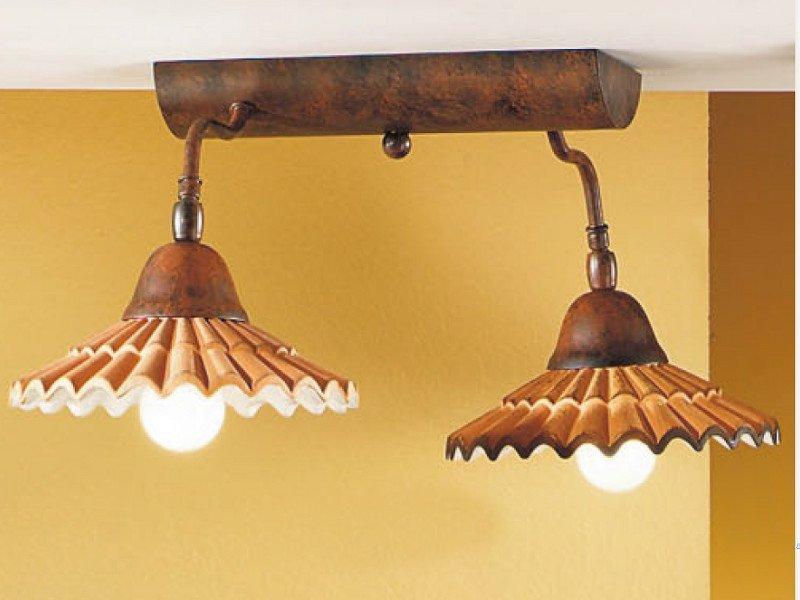 Duep illuminazione lampada da soffitto vania due luci