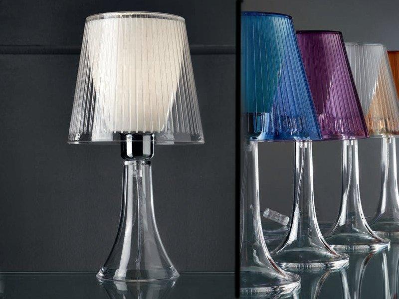 Lampada Scrivania Viola : Illuminando jolly lampada da tavolo