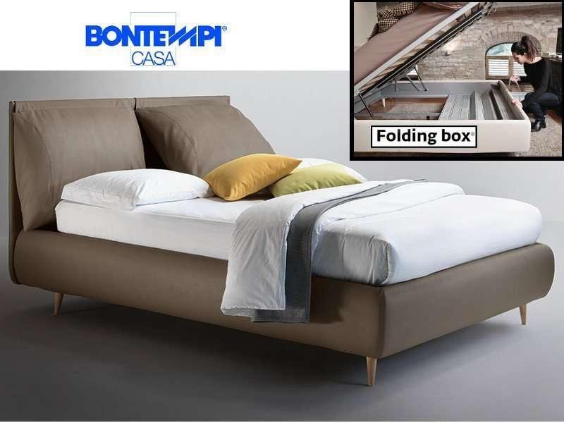 Letto Contenitore Bontempi.Bontempi Letto Imbottito Malou Folding Box