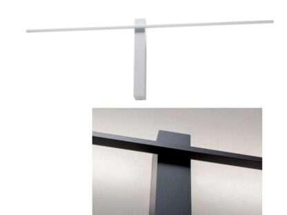 lampada da parete tangent bianca e nera