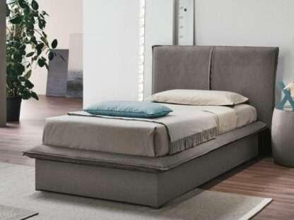 letto contenitore itaca singolo ghiaccio