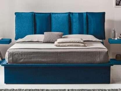 letto contenitore santorini blu