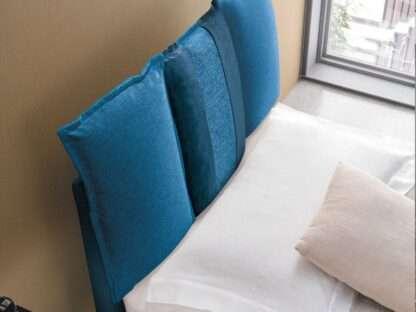 letto santorini blu singolo