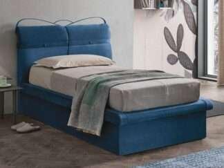 letto corfu plus con contenitore blu