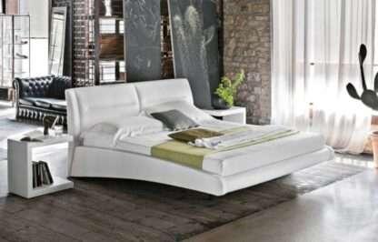 letto stromboli soft touch bianco