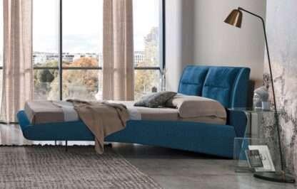 letto stromboli king size blu