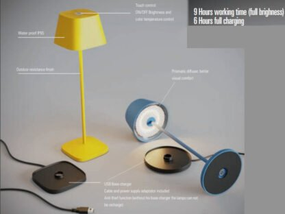 caratteristiche lampada la nuit