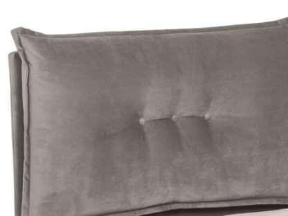 testa letto contenitore belvedere grigio scuro